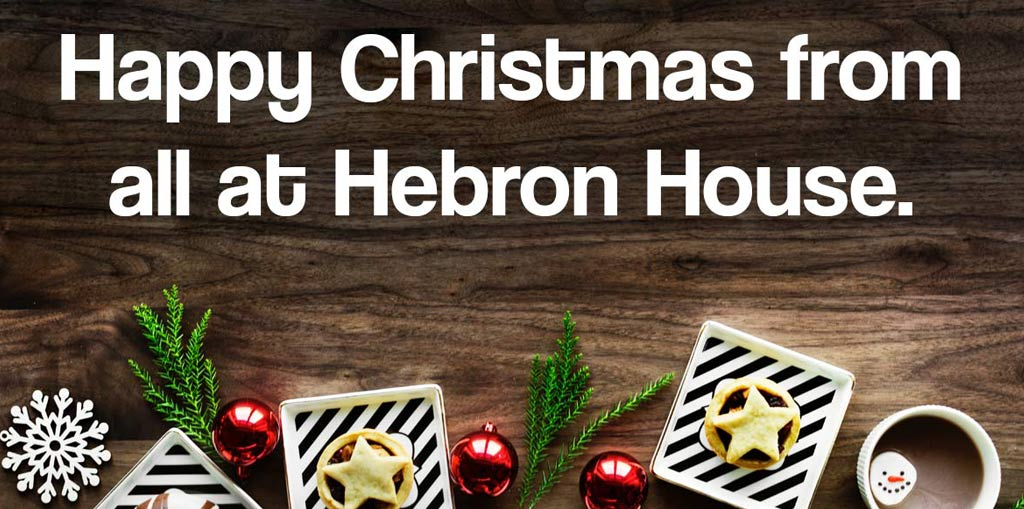 Happy Christmas from all at Hebron